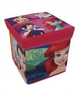 Banquinho Porta Objeto Princesas - Zippy Toys