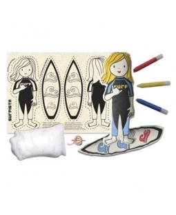 Boneca de Pano Surfista