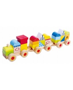 Trem de Blocos - Tooky Toy