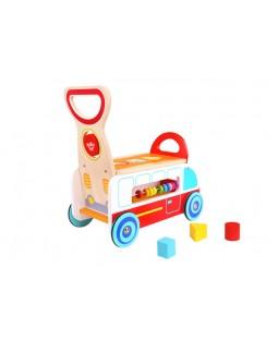 Carrinho Andador Multifuncional - Tooky Toy