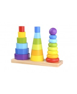 Encaixe Forma Geométrica - Tooky Toy