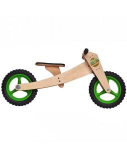Bicicleta de Madeira 02 em 01 - Woodbike Verde